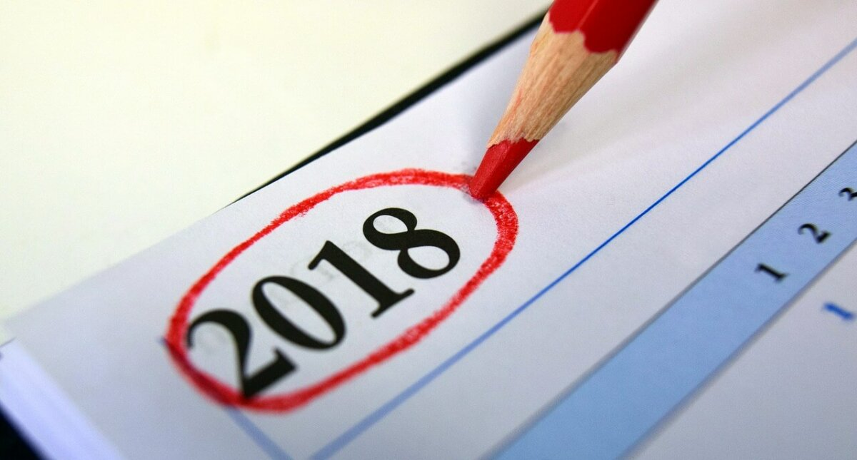 Termine und Hinweise zum Jahresende 2018